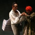 Als Matto mit Doris Weiner/La Strada
