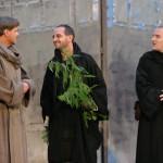 Bruder Severinus mit Peter Scholz und Raphael von Bargen /Der Name der Rose